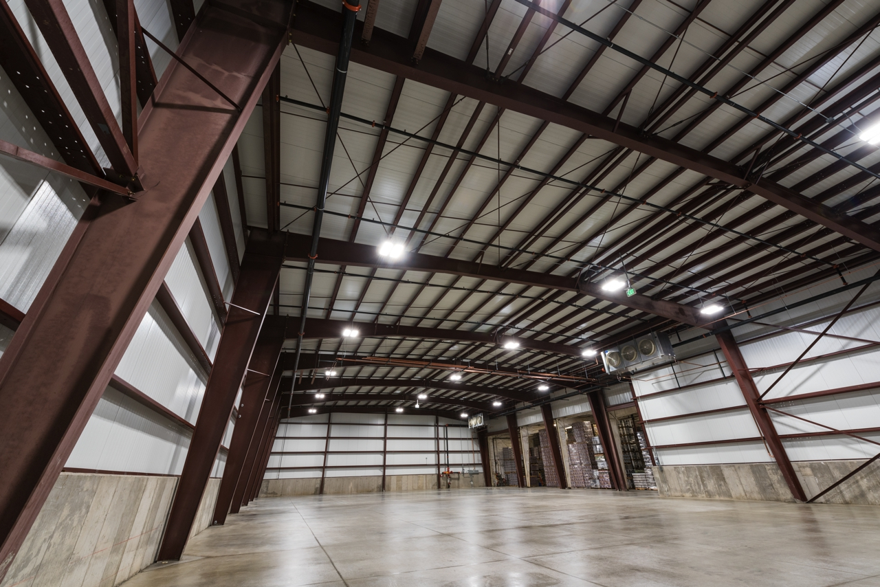 Left Hand Refrigerated Warehouse : BUILT  Construction